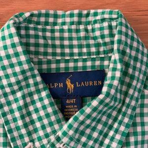Ralph Lauren boys shirt 4T